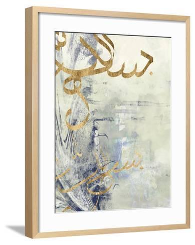 Arabic Encaustic III-Jennifer Goldberger-Framed Art Print