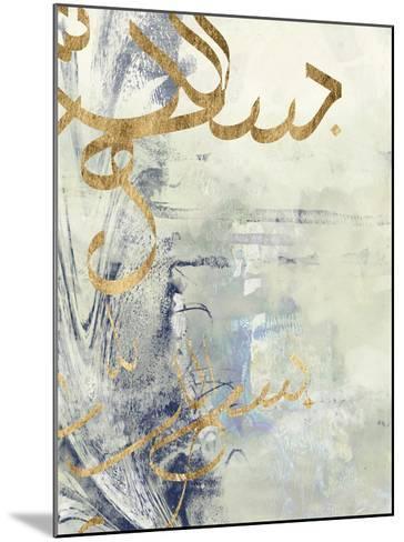 Arabic Encaustic III-Jennifer Goldberger-Mounted Art Print
