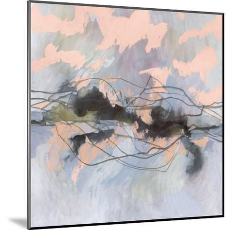 Horizon Flux I-Victoria Borges-Mounted Art Print
