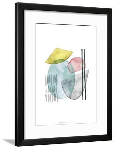 Pastel Formation I-Grace Popp-Framed Art Print