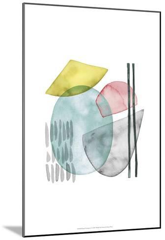 Pastel Formation I-Grace Popp-Mounted Art Print