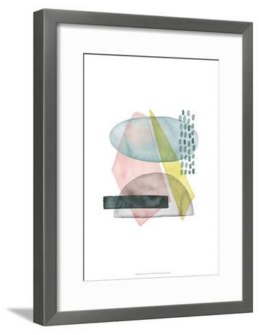 Pastel Formation II-Grace Popp-Framed Art Print