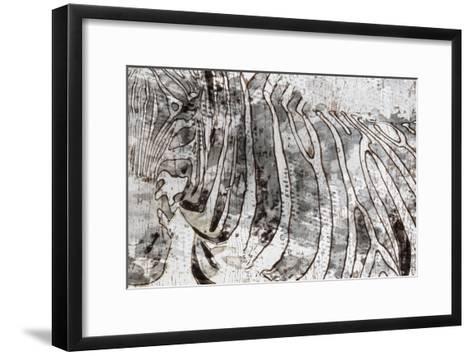 Zebra Mix-Irena Orlov-Framed Art Print