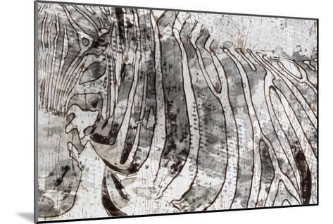 Zebra Mix-Irena Orlov-Mounted Art Print