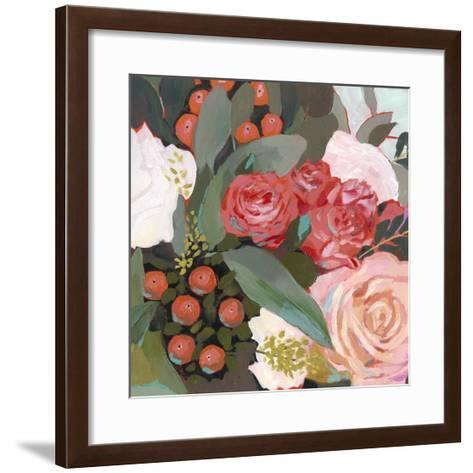 Eucalyptus Bouquet I-Victoria Borges-Framed Art Print