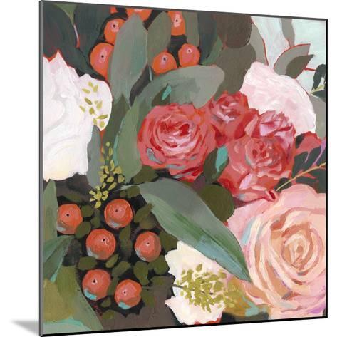 Eucalyptus Bouquet I-Victoria Borges-Mounted Art Print