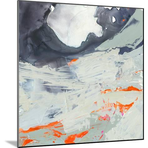 Polyphonic Sea II-Victoria Borges-Mounted Art Print