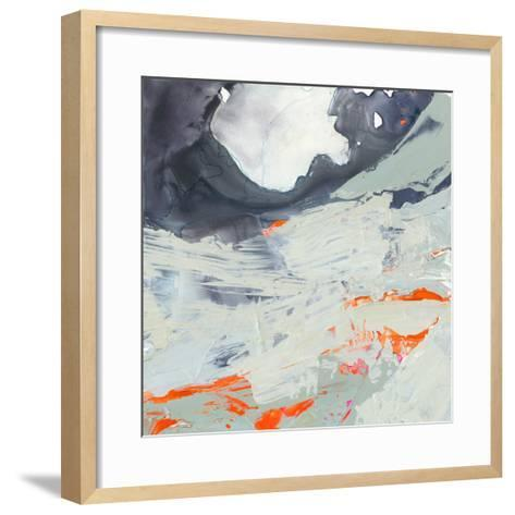 Polyphonic Sea II-Victoria Borges-Framed Art Print