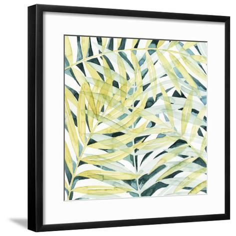 Sunlit Palms II-Grace Popp-Framed Art Print