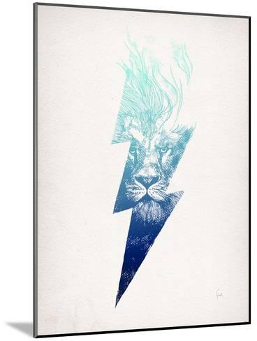 King Of The Clouds-David Fleck-Mounted Art Print