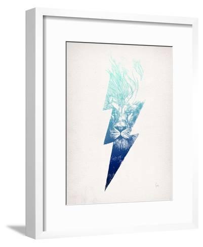 King Of The Clouds-David Fleck-Framed Art Print