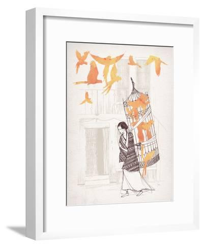 Frida-David Fleck-Framed Art Print