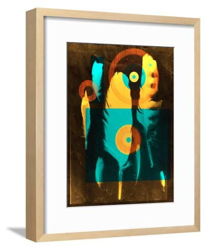 Feathers1-NDTank-Framed Art Print