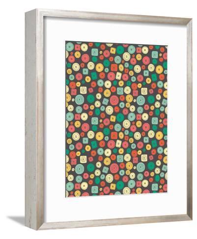 The Other Buttons-NDTank-Framed Art Print