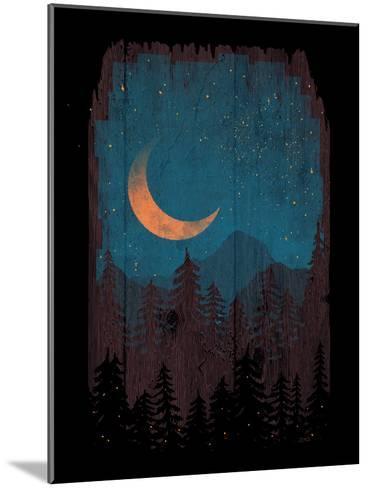 Those Summer Nights-NDTank-Mounted Art Print