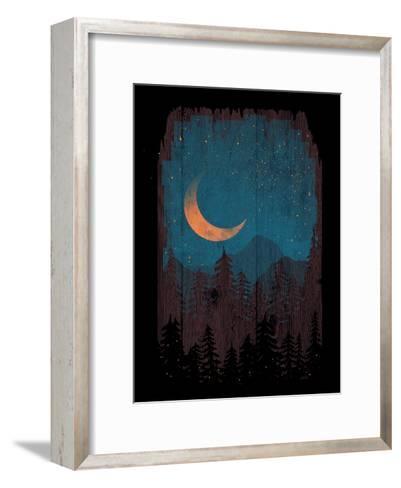 Those Summer Nights-NDTank-Framed Art Print