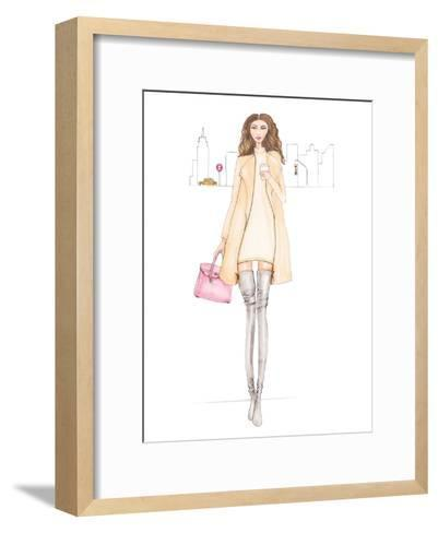 Nyc Chic-Alison B-Framed Art Print