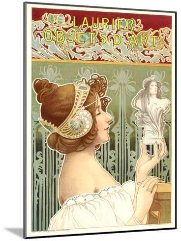 Laurier Art Nouveau Poster-Found Image Press-Mounted Art Print