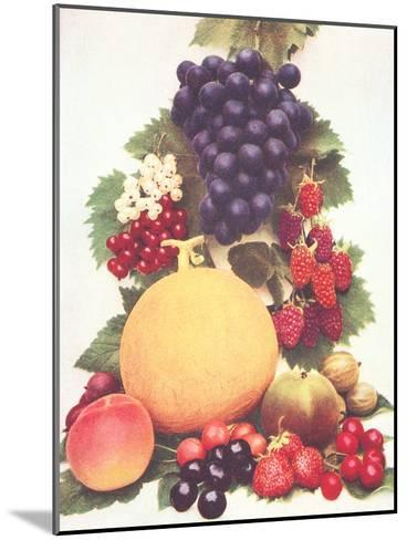 Lots Of Fruit-Found Image Press-Mounted Art Print