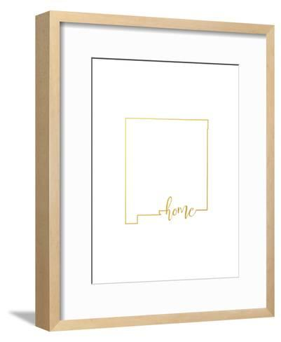 New Mexico home-Paperfinch-Framed Art Print