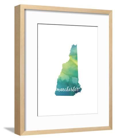 NH Manchester-Paperfinch-Framed Art Print