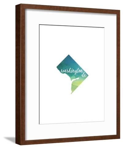 DC Washington DC-Paperfinch-Framed Art Print