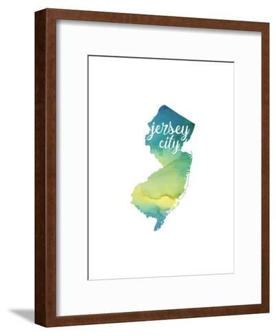 NJ Jersey City-Paperfinch-Framed Art Print