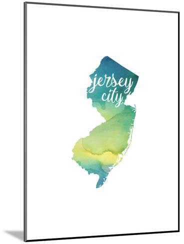 NJ Jersey City-Paperfinch-Mounted Art Print