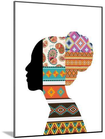 Ethnic Woman--Mounted Art Print