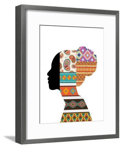 Ethnic Woman--Framed Art Print