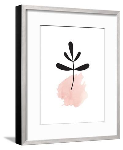 Pink Leaf--Framed Art Print