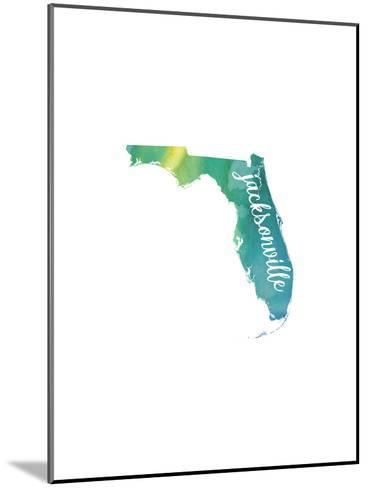 FL Jacksonville-Paperfinch-Mounted Art Print