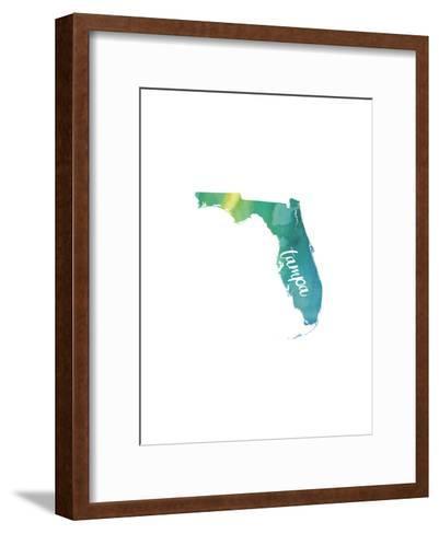 FL Tampa-Paperfinch-Framed Art Print