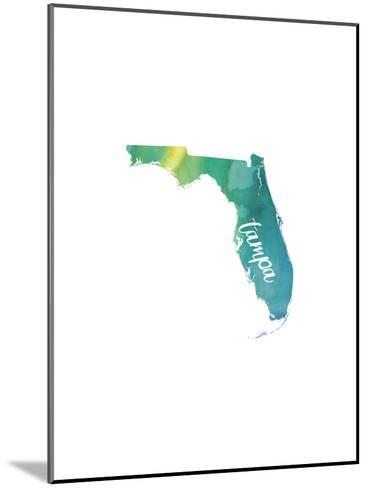 FL Tampa-Paperfinch-Mounted Art Print