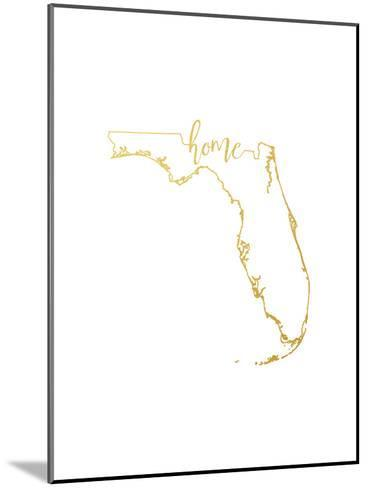 Florida Home-Paperfinch-Mounted Art Print