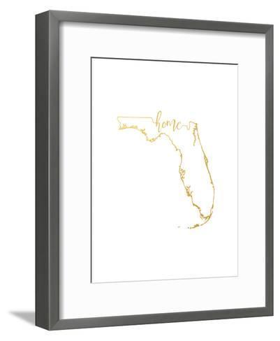 Florida Home-Paperfinch-Framed Art Print