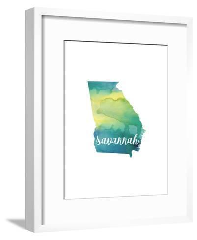 GA Savannah-Paperfinch-Framed Art Print