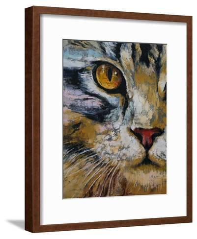 Maine Coon Cat-Michael Creese-Framed Art Print