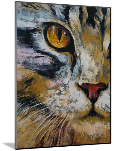 Maine Coon Cat-Michael Creese-Mounted Art Print