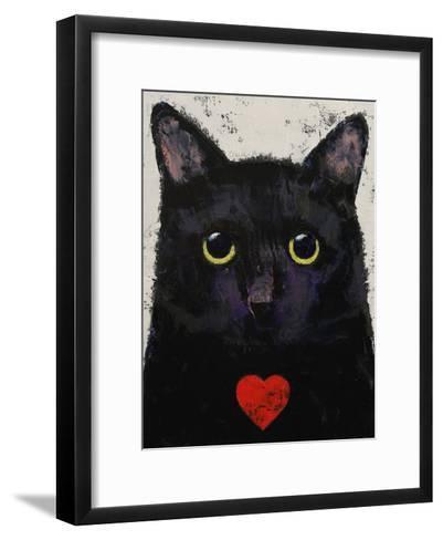 Love Cat-Michael Creese-Framed Art Print