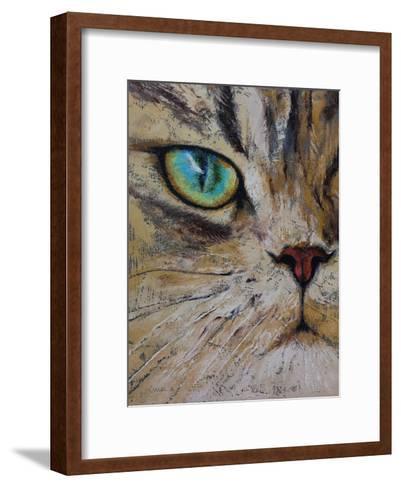 Persian Cat-Michael Creese-Framed Art Print