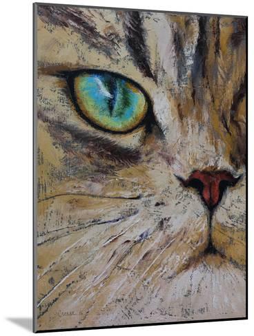 Persian Cat-Michael Creese-Mounted Art Print