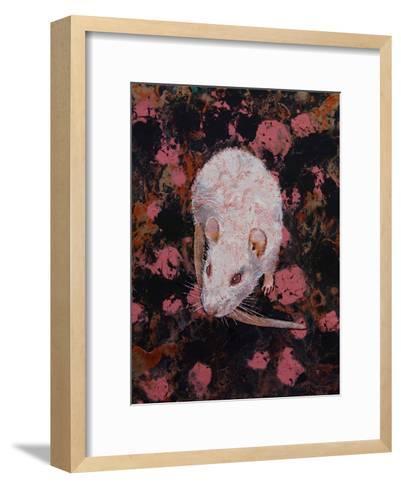 White Rat-Michael Creese-Framed Art Print