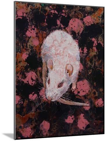 White Rat-Michael Creese-Mounted Art Print