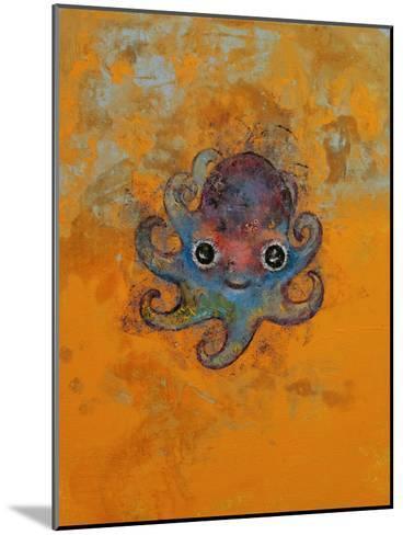Baby Octopus-Michael Creese-Mounted Art Print