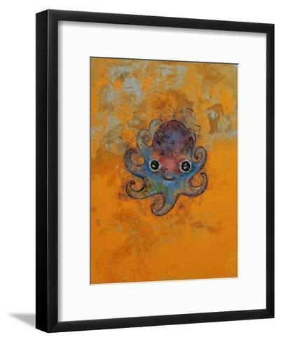 Baby Octopus-Michael Creese-Framed Art Print