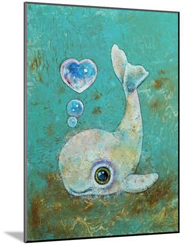 Baby Whale-Michael Creese-Mounted Art Print