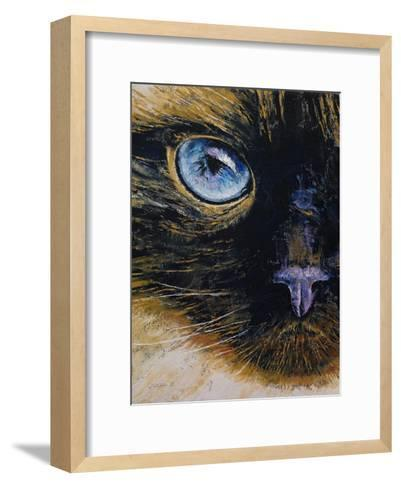 Burmese Cat-Michael Creese-Framed Art Print