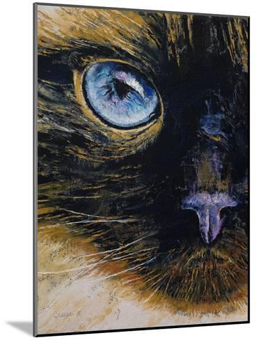 Burmese Cat-Michael Creese-Mounted Art Print