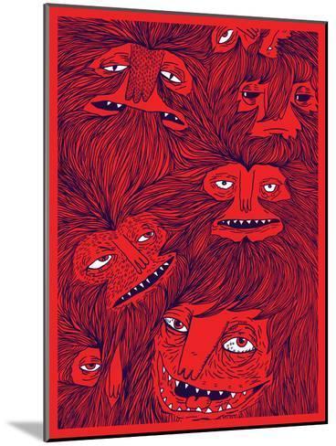 Hairwolves-Joe Van Wetering-Mounted Art Print
